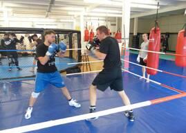 Neue Trainingsörtlichkeit der Boxgruppe